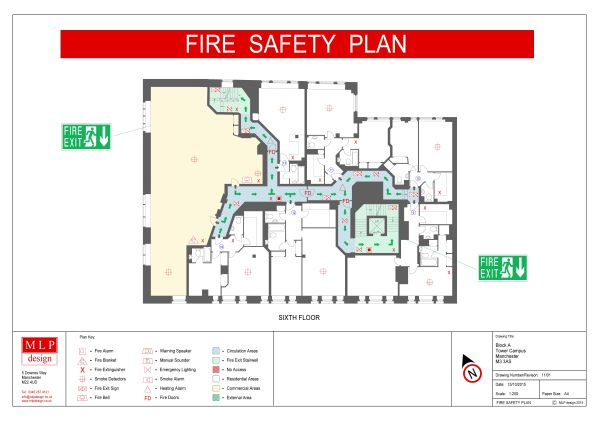 Fire Safety Plan Example